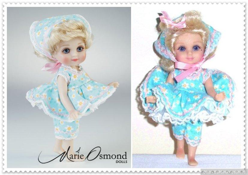 Marie Osmond, vinyl doll, Adora Belle Calender Girls Series, August