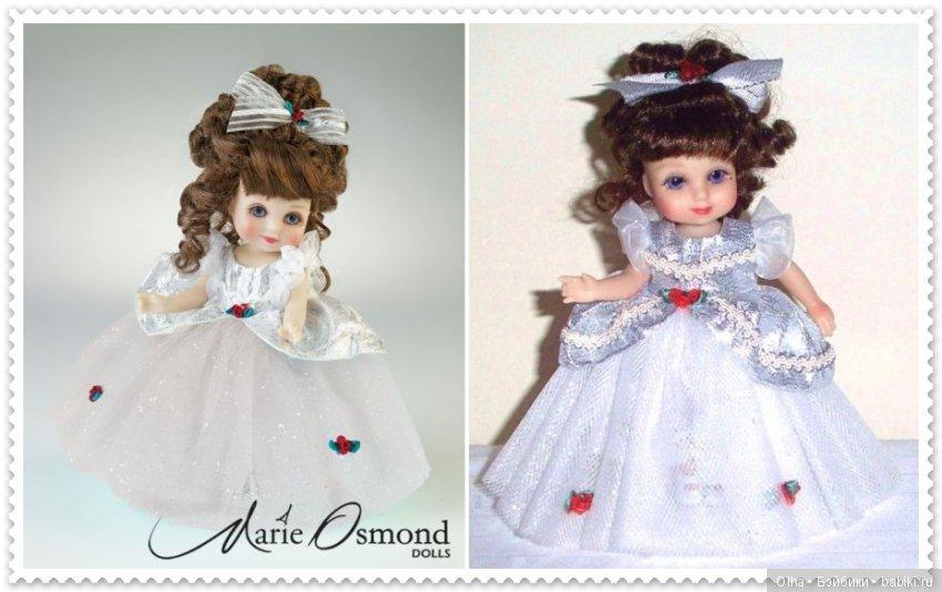 Marie Osmond, vinyl doll, Adora Belle Calender Girls Series, December