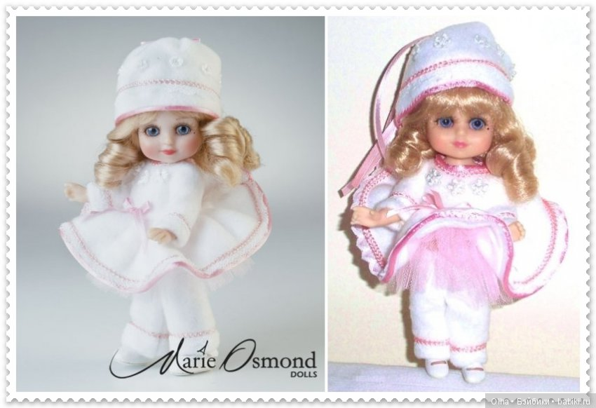 Marie Osmond, vinyl doll, Adora Belle Calender Girls Series, January