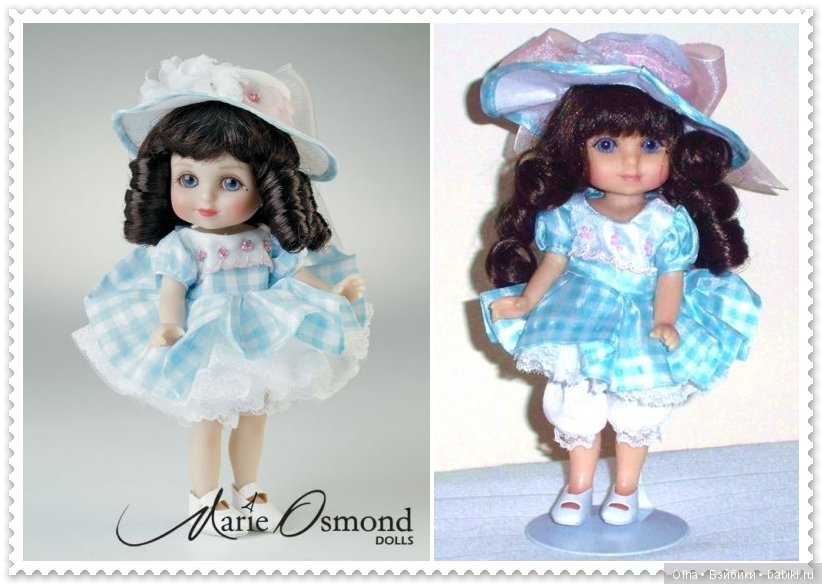 Marie Osmond, vinyl doll, Adora Belle Calender Girls Series, April
