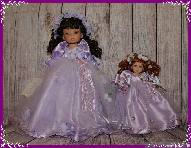 Linda Rick, Timeless Beauty, Lavender Key To My Heart, vinyl doll
