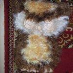 кудрявая сова, чебурашка в подарок