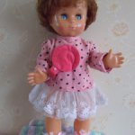 кукла Вика флиртушка Московская фабрика 8 Марта