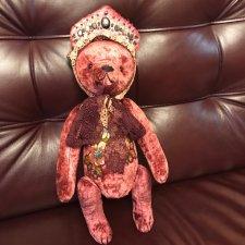 Медведь тедди, Дуняша созданная в единственном экземпляре.