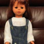 Красивая винтажная кукла фабрики Sonnenberg (ГДР)