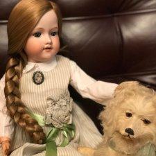 Антикварная кукла Armand Marseille молд 390