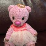 Маленькая лавандовая мишка Принцесса 500 рублей  до 14 февраля