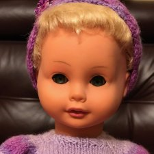 Винтажная кукла с зубками ГДР Распродажа, новая цена 1500