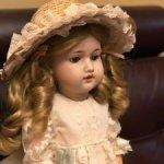 Антикварная кукла Hermann Steiner