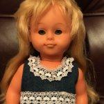 Винтажная кукла 60 годов ГДР