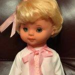 Винтажная виниловая кукла ГДР
