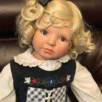 Коллекционная виниловая кукла Daniela от Edda Thormann