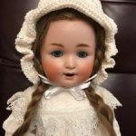 До 1 февраля цена 17000 .Милая антикварная девочка от Scheutzmeister&Quendt201 Character baby.