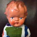 Продам куклу АШГ, винтаж, начало 50-х, ГДР