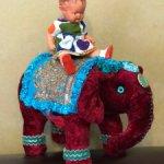 Очаровательный слоник ручной работы в единственном экземпляре