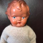 Продам куколку АШГ, винтаж, начало 50-х, ГДР