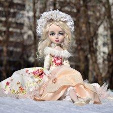 Моя новая кукольная девочка София