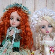Куклы ручной работы Есения и София