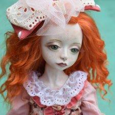 Кукла Аурелия расцвела