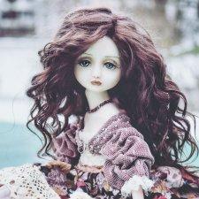 Фарфоровая кукла Мелисса