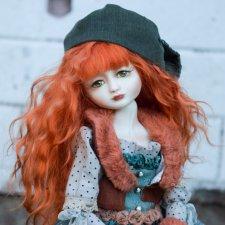 Кукла фарфоровая интерьерная Анастасия