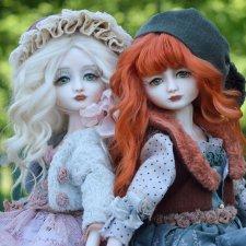 Прогулка с куклами. Дуэт