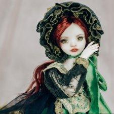 Кукла фарфоровая Луиза
