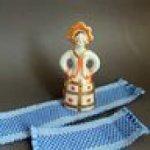 Настоящие тканые коврики для кукольного дома!