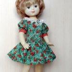 Платье для куклы 55-60 см.