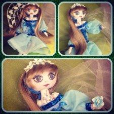 Моя новая куколка, лесная нимфа Эль