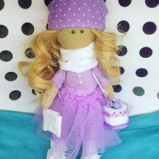 Мягкая кукла Лизи, набор для шитья Арт узор