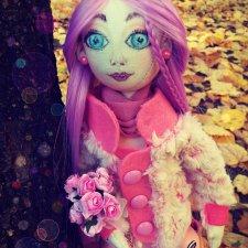 Игровая текстильная куколка Флами