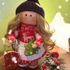Скоро-скоро Новый год. Мои новогодние интерьерные-куколки