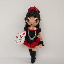 Вязанная куколка Су-метал. Судзука Накамото, группа Babymetal