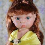 """Кристи принцесса в жёлтом пышном платье, """"старое"""" тело"""