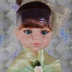 """Принцесса Кристи в зелёном платье, """"старый"""" тип тела"""