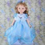 """Карла принцесса в голубом платье, """"старое"""" тело"""