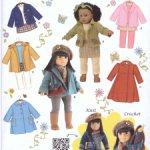 Готовимся к осени! Выкройки для кукол 18 дюймов  Gotz, Zapf и других в формате PDF