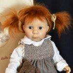 Снижена цена! Ида с медвежонком кукла Verena Eising Zapf