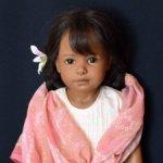 Индианка Shantala студийная кукла Heidi Plusczok