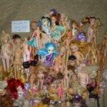 большой лот голов и тел для игровых кукол цена за все,освобождаю шкаф!
