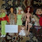Разные куколки из коллекции