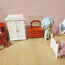 Аналоги мебели sylvanian families для obitsu 11 и подобных куколок. Часть 2. Спальная комната
