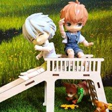 Деревяшечки! Деревянная садовая мебель для мелких куколок