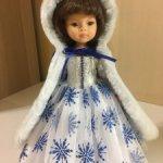 Paola Reina Комплект с синими снежинками