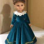 Paola Reina бархатное платье