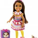 Кукла Челси в костюме тортика