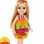 Челси в костюме бургера