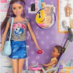 Barbie няня  Скиппер с коляской и малышкой