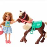 Кукла Челси и пони